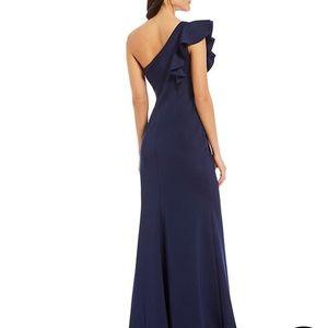 Ruffle Evening Gown
